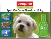BEAPHAR Spot on Cane 3  pipette sotto 15 kg