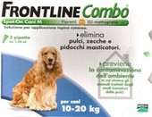 FRONTLINE COMBO Spot on cani 10-20 kg 3 Pipette